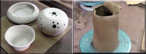 小鉢、灯りとり、花瓶